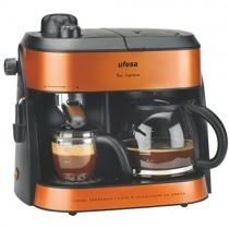 Opinión y precio sobre la cafetera espresso Ufesa Duo Supreme ck7355
